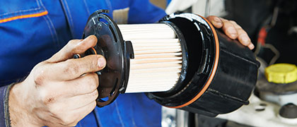 image of oil filter replacement winter park florida